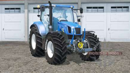 New Holland T6.175〡Michelin tires for Farming Simulator 2015