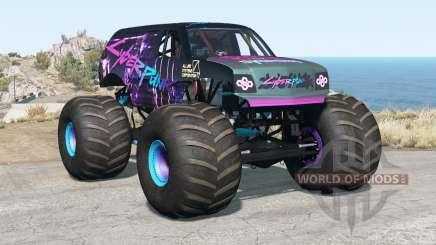 CRD Monster Truck v2.1 for BeamNG Drive