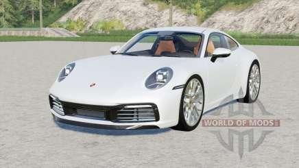 Porsche 911 Carrera 4S (992) 2019 for Farming Simulator 2017