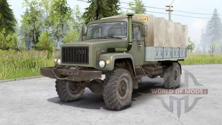 Gaz 3308 Sadko and Gaz 33081 Ranger for Spin Tires