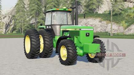John Deere 4000 series〡wheels options for Farming Simulator 2017