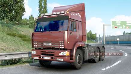 Kamaz 6460〡s sounds for Euro Truck Simulator 2