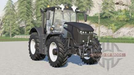 JCB Fastrac 8330 in the black edition for Farming Simulator 2017