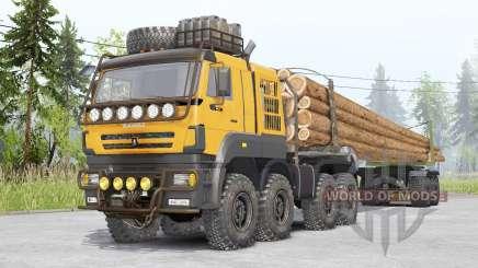 Kamaz 65228 TEMPO v1.2 for Spin Tires