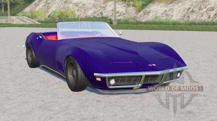 Chevrolet Corvette convertible (C3) 1968 for Farming Simulator 2017