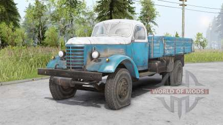 FAW Jiefang CA10 4 x2 1956 for Spin Tires