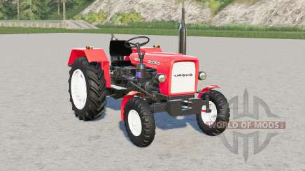 Ursus C-330〡coral red & arylide yellow for Farming Simulator 2017