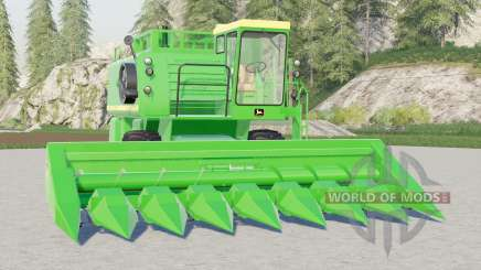 John Deere 7700〡with cutters for Farming Simulator 2017