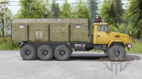 KRAz 7140N6〡wosk for Spin Tires