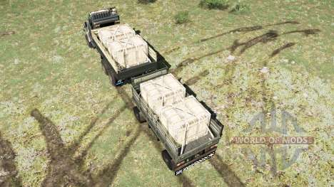 CRAz 260〡 color variants for Spintires MudRunner