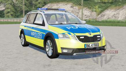 Skoda Octavia Scout (5E) 2017〡Polizei for Farming Simulator 2017
