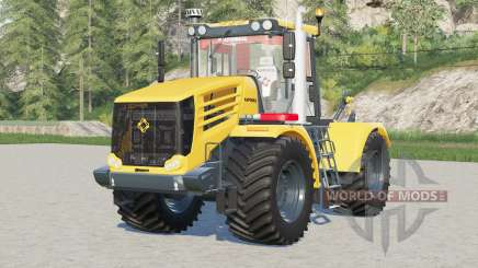 Kirovets K-744R4〡regulated canopy for Farming Simulator 2017