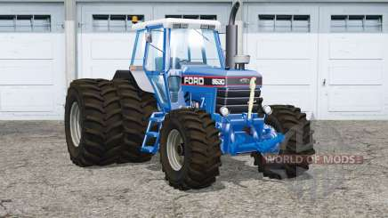Ford 8630〡dual rear wheels for Farming Simulator 2015