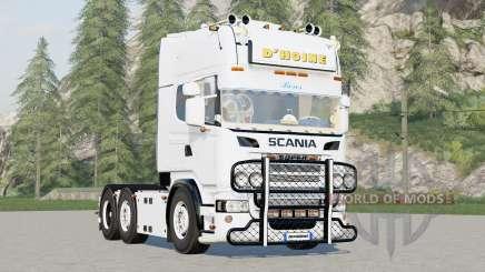 Scania R730 6x4 Streamline Topline Cab〡DHoine for Farming Simulator 2017