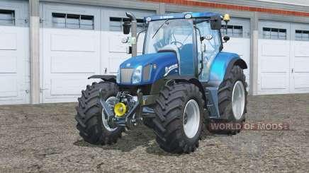 New Holland T6.175〡Blue Power for Farming Simulator 2015