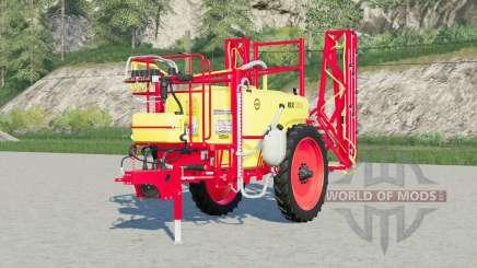 Unia Pilmet Rex 2518〡green & red for Farming Simulator 2017