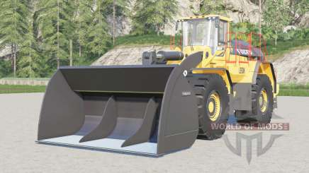 Volvo L350H〡improved textures for Farming Simulator 2017