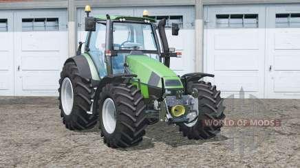 Deutz-Fahr Agrotron 120 MK3〡cab suspension for Farming Simulator 2015