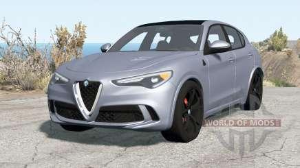 Alfa Romeo Stelvio Quadrifoglio (949) 2018 for BeamNG Drive