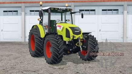 Claas Axos 330〡real lights for Farming Simulator 2015