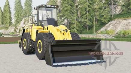 Caterpillar 990H for Farming Simulator 2017