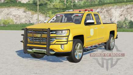 Chevrolet Silverado 1500 Double Cab (GMTK2) 2016〡Iowa DNR v2.0 for Farming Simulator 2017