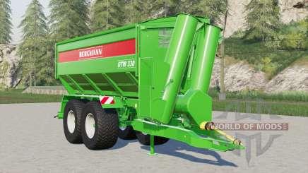 Bergmann GTW 330 for Farming Simulator 2017