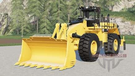 Caterpillar 992K for Farming Simulator 2017