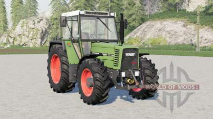 Fendt Farmer 300 LSA Turbomatik〡added decoration for Farming Simulator 2017