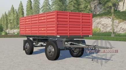 Autosan D-50〡corrected wheels for Farming Simulator 2017