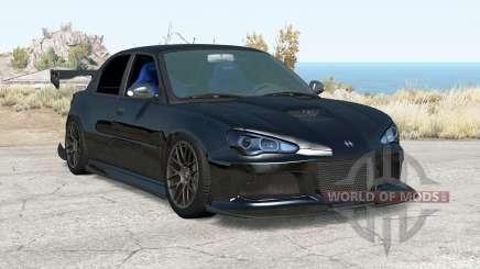 Hirochi Sunburst Black on Black v2.01 for BeamNG Drive