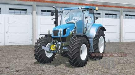 New Holland T6.160〡change wheels for Farming Simulator 2015