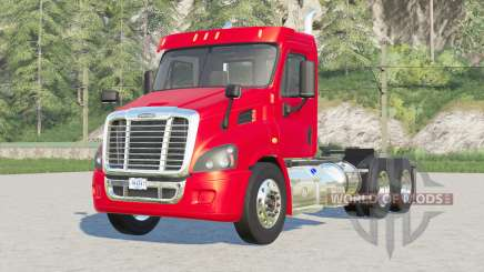 Freightliner Cascadia Day Cab〡mirrors reflect for Farming Simulator 2017