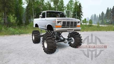 Ford Bronco Ranger XLT 1978〡lifted for MudRunner