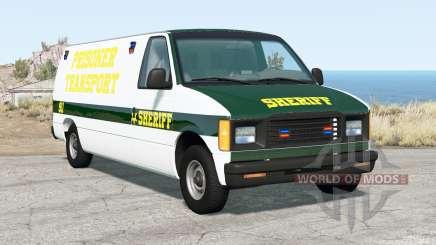 Gavril H-Series Prison Van for BeamNG Drive