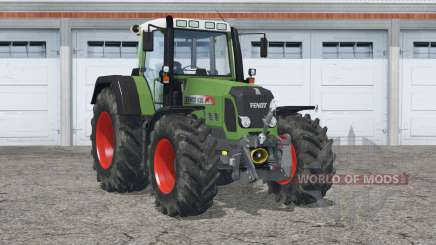 Fendt 820 Vario TMS〡extra weights in wheels for Farming Simulator 2015
