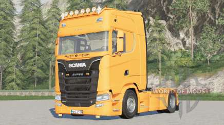 Scania S-series〡light fixed for Farming Simulator 2017