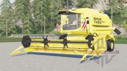 New Holland TX65 plus for Farming Simulator 2017