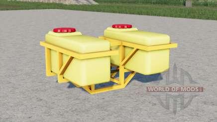 Fertilizer tanks for Farming Simulator 2017