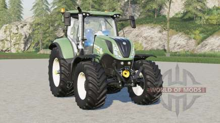 New Holland T7 series〡front weight option added for Farming Simulator 2017