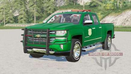 Chevrolet Silverado 1500 Double Cab (GMTK2) 2016〡Iowa DNR for Farming Simulator 2017