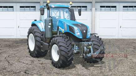 New Hollaꞥd T8.320 for Farming Simulator 2015
