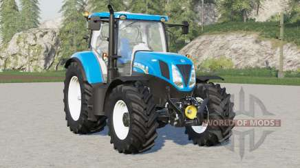 New Holland T7 series〡front fender configuration for Farming Simulator 2017