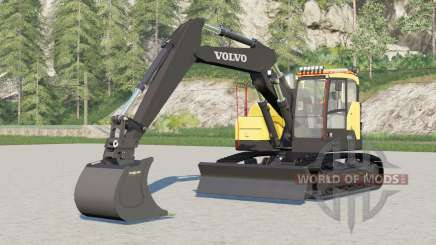 Volvo ECR145EL for Farming Simulator 2017