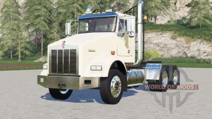 Kenworth T800 Day Cab〡chassis options for Farming Simulator 2017