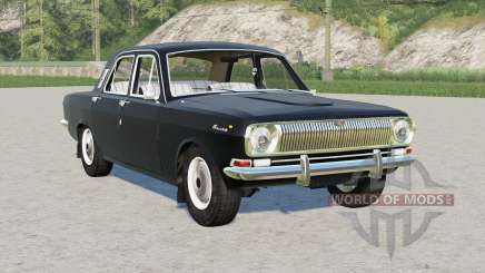 Gaz 24 Volga〡s crush the grass for Farming Simulator 2017