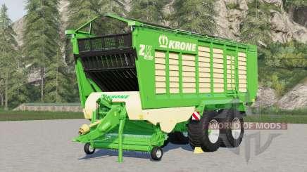Krone ZX 430 GD〡forage wagon for Farming Simulator 2017
