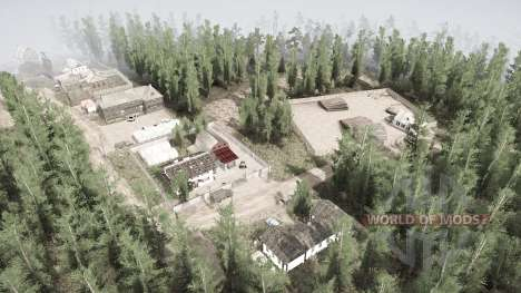 Ural 12: Rescue of the MCT for Spintires MudRunner