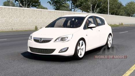 Opel Astra (J) 2010 v1.5 for American Truck Simulator