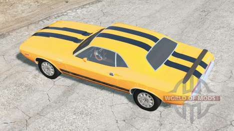 Dodge Challenger RT 440 Six Pack (JS-23) 1970 for BeamNG Drive